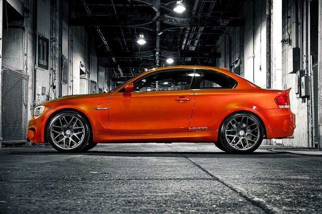 MORR Wheels & iCarbon BMW 1M by GREATONE!, via Flickr