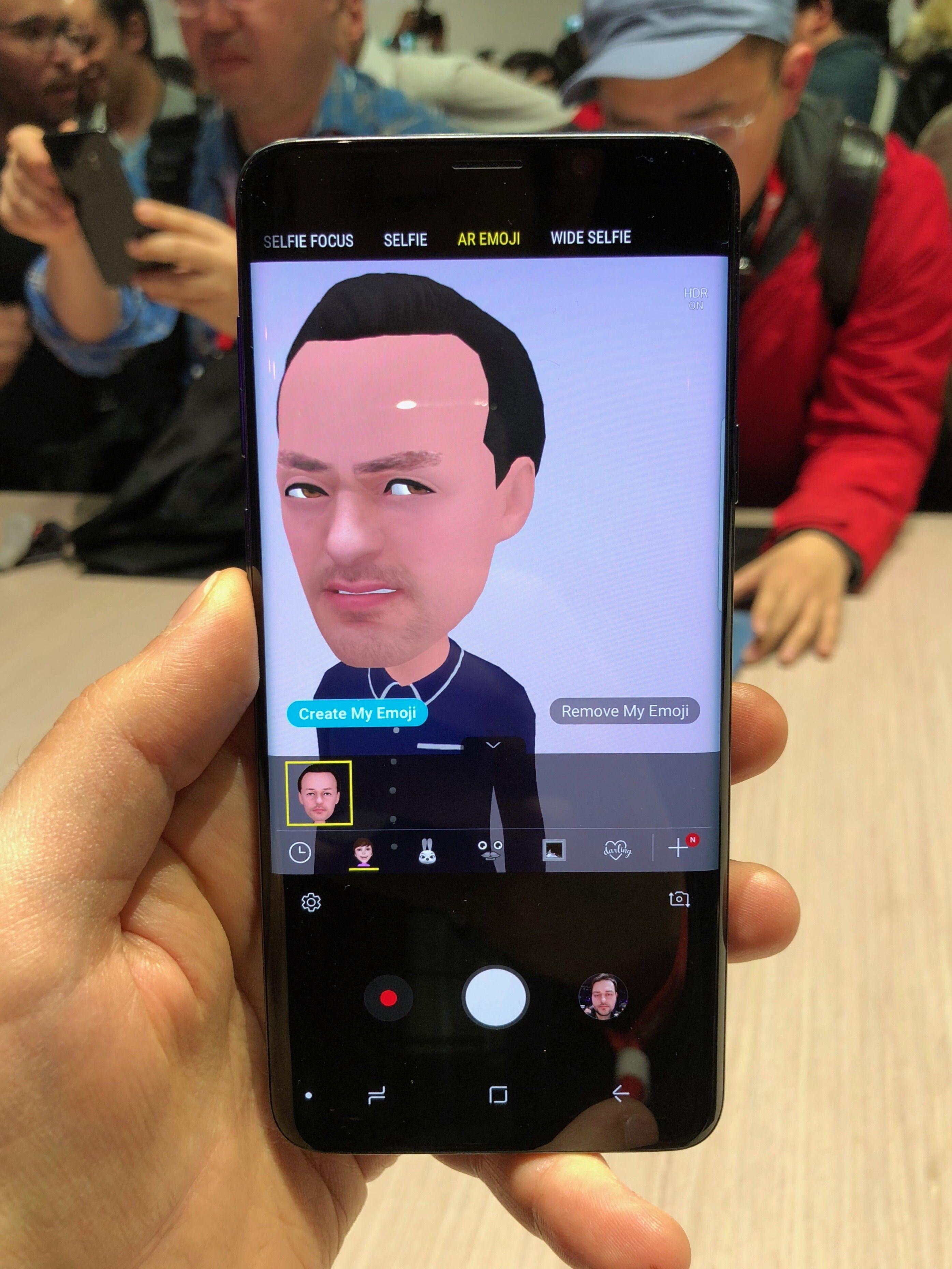 Samsung's Galaxy S9 AR Emoji are kind of horrifying
