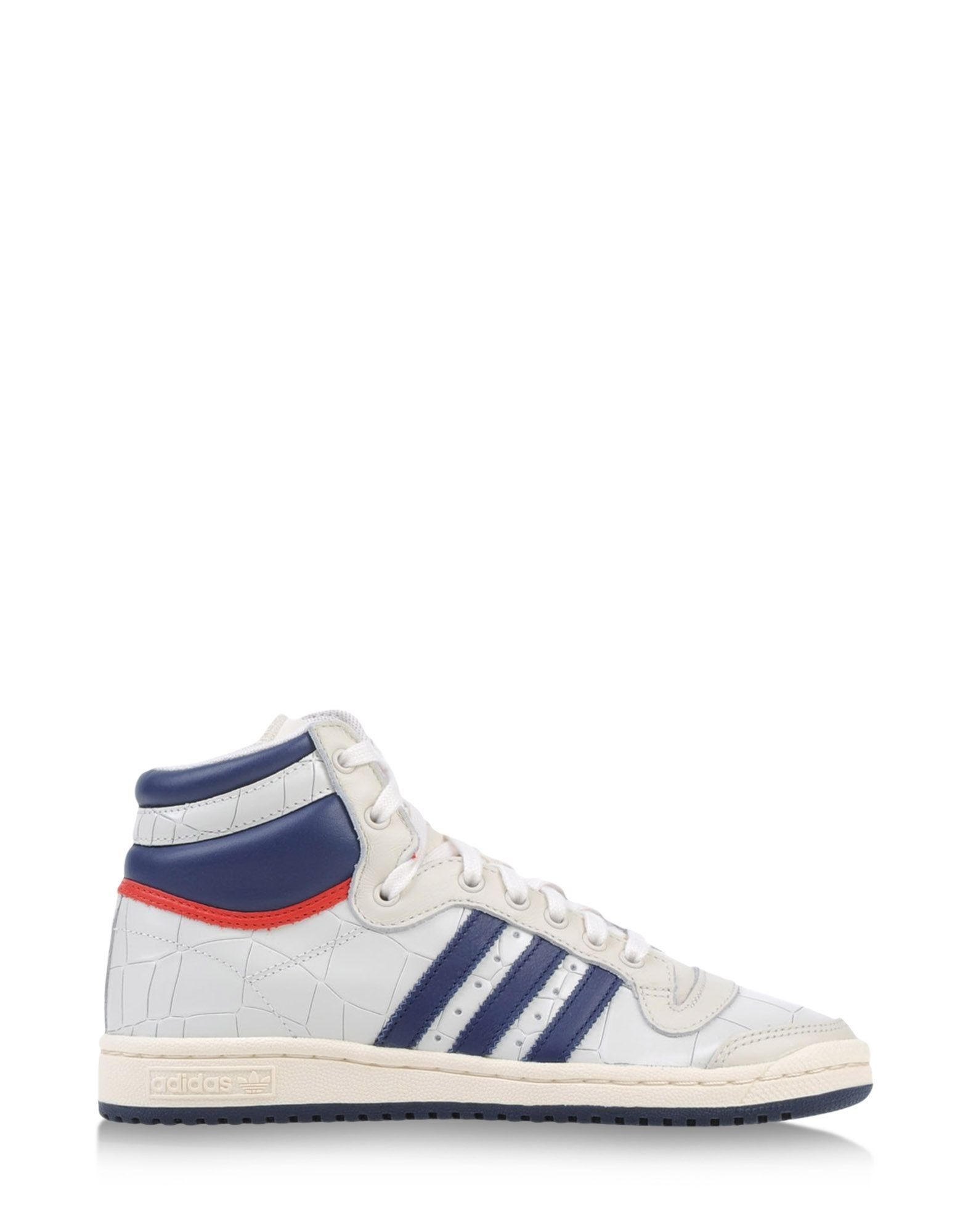 Adidas Originals: Printed Leather High-Top Sneaker