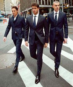 Hairy Men In Suits