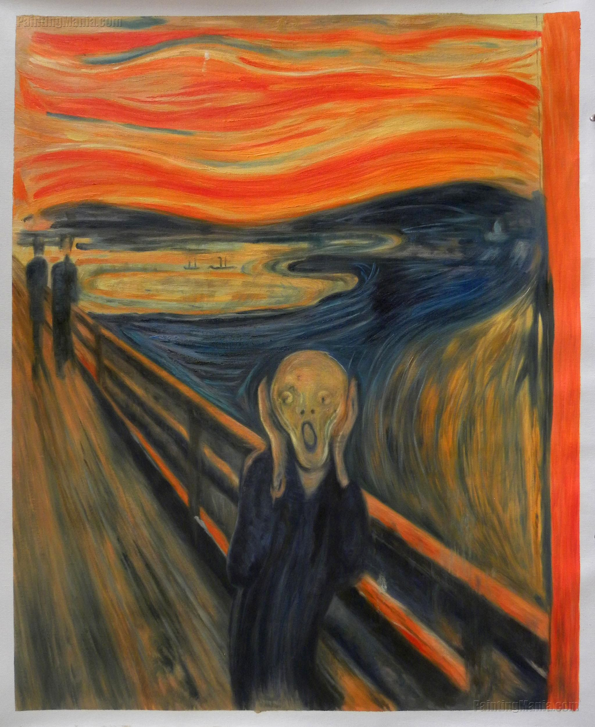 impact of edvard munch s the scream The scream (1892), by edvard munch, depicts a figure holding its face, which   but look above this individual and the sky is full of colourful wavy lines  would  have had a big impact on anyone who saw them for the first time.