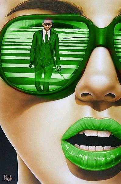 Photo of Green – Scott Rohlfs Art – http:/^www.scottrohlfs.com
