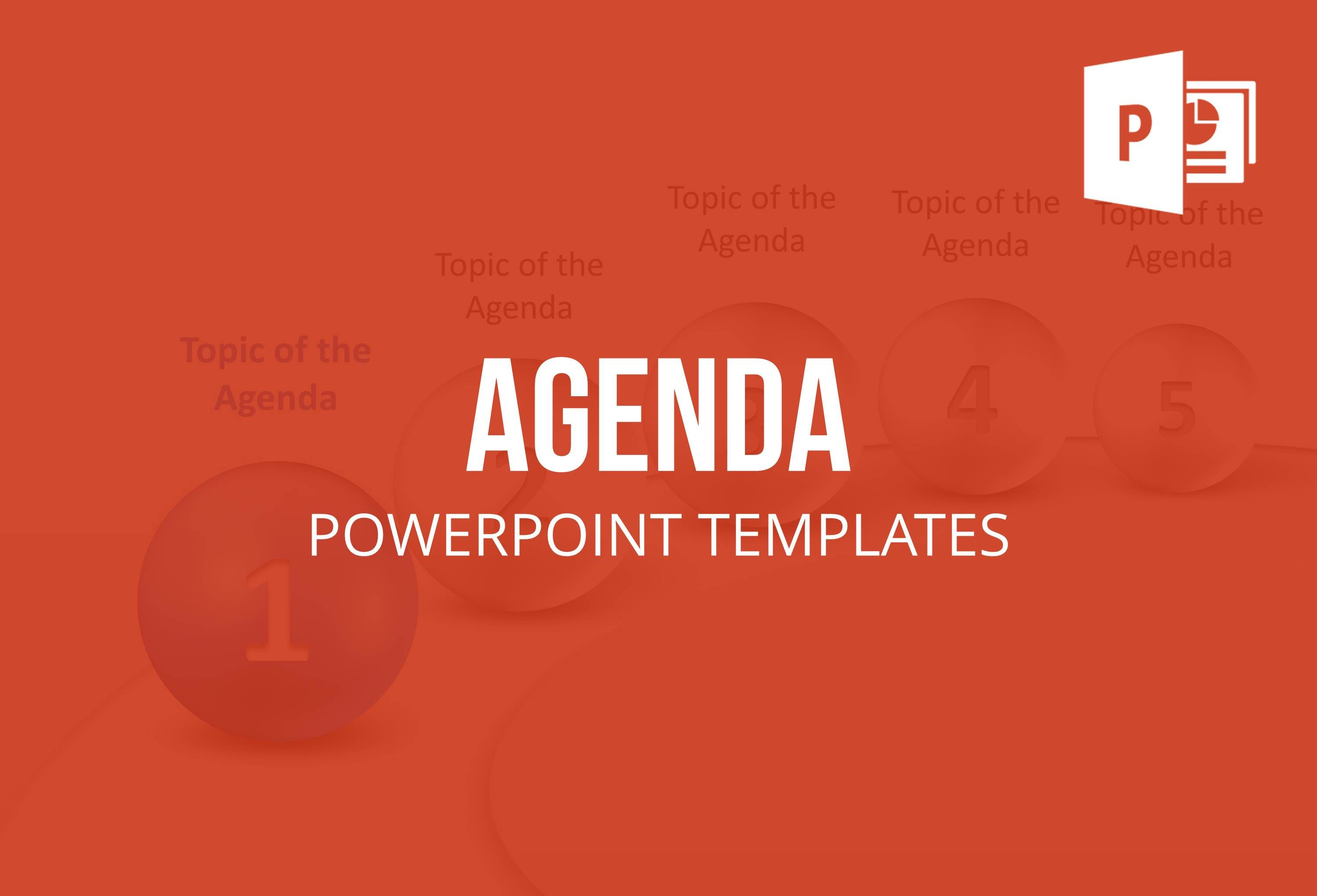 Save Time By Using These Agenda Templates For Powerpoint To Create