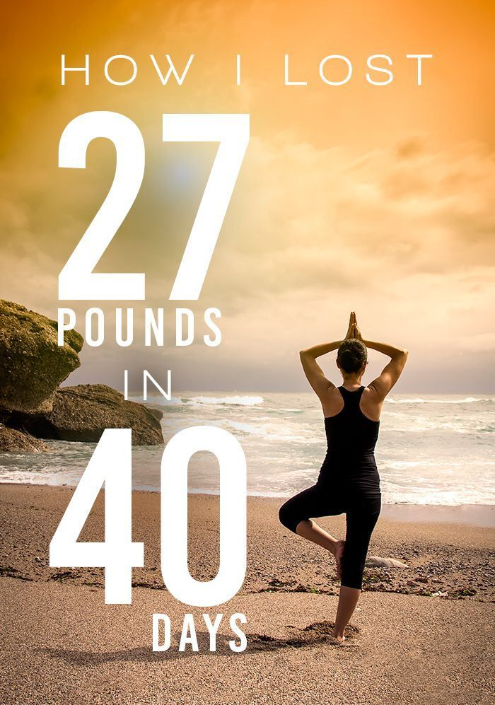 how to lose 40 pounds in a month with exercise