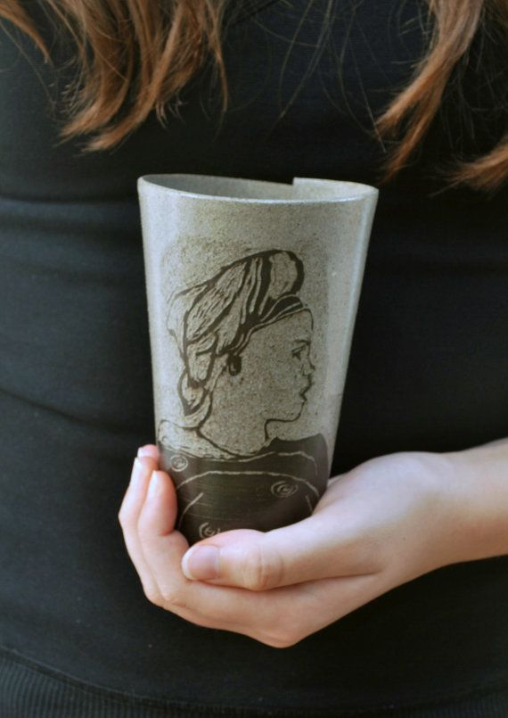 Unique Pottery Mug, Ceramic Coffee Mug, Pottery Coffee Mug, Coffee Lovers Gift, Office Mug, Best Friend Gift, Mothers Day Gift Idea #uniquecoffee