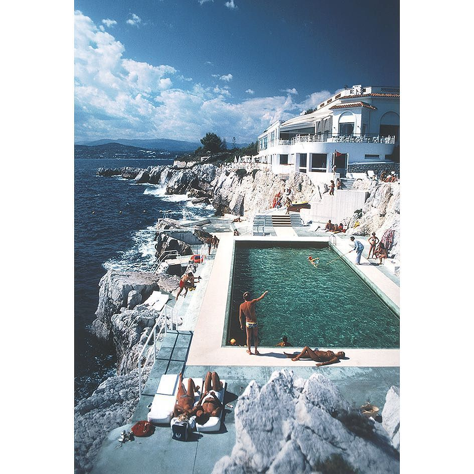 Hotel du Cap Eden-Roc Antibes France by Slim Aarons  by thenativefox