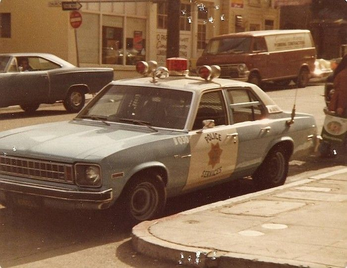 San Francisco Police Chevy Nova Patrol Car C1975 Police Cars Us