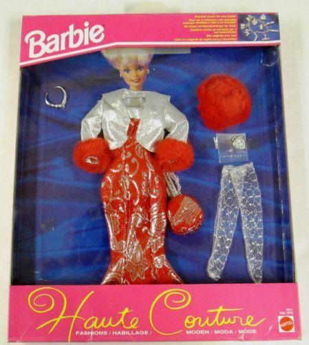 Barbie Haute Couture Fashions 1993 Barbie Barbie Clothes Haute Couture