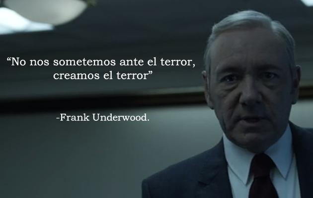 Sin Título 15 Frases Frank Underwood Citas De La Sabiduría