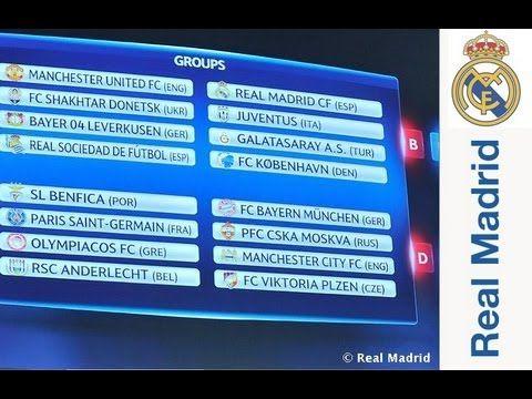 FOOTBALL -  El Madrid se medirá a Juventus, Galatasaray y Copenhague en la Fase de Grupos de la Champions - http://lefootball.fr/el-madrid-se-medira-a-juventus-galatasaray-y-copenhague-en-la-fase-de-grupos-de-la-champions/