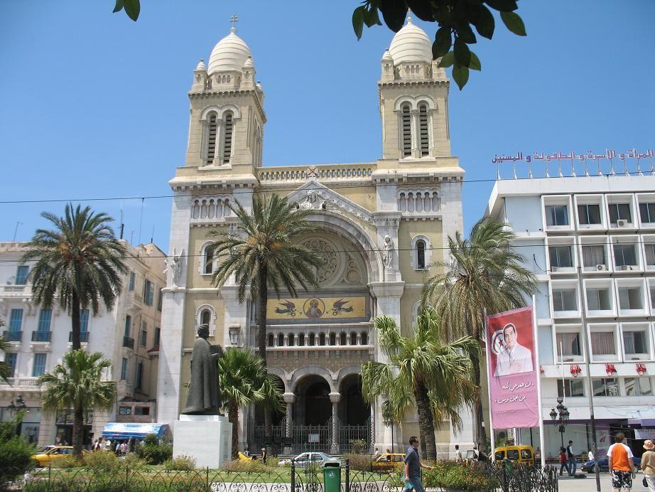 Tunisin katedraali.