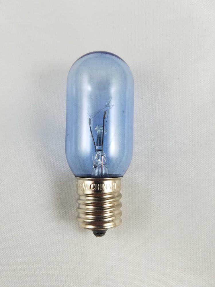 25 Watt 120vac Intermediate Base Screw In Blue Light Bulb 25t8n Appliance Vacuum Blue Light Bulb Light Bulb Bulb