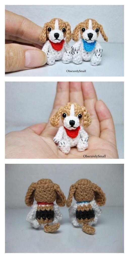 Photo of Amigurumi Cute Small Dog Free Pattern – Free Patterns