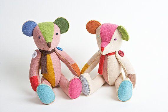 Teddy bear /handmade teddy bear/vintage teddy bear