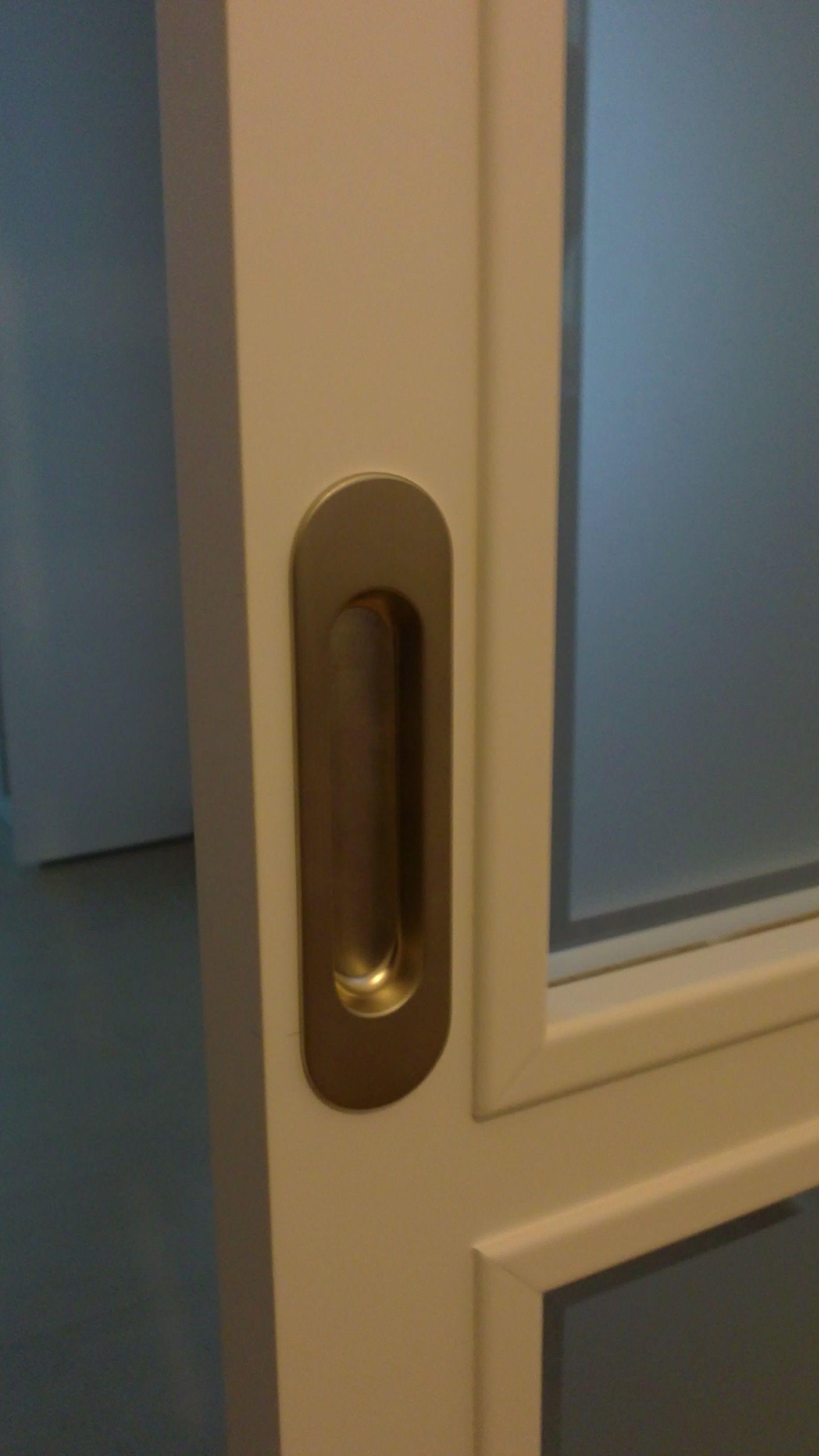 Tirador u ero acero inoxidable para puerta corredera for Tirador puerta corredera
