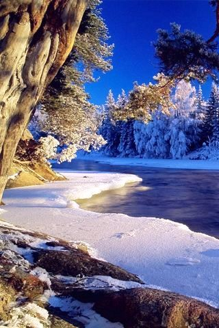 Clear and Cold - #Winter