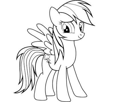 Desenhos Para Colorir O Meu Pequeno Ponei My Little Pony