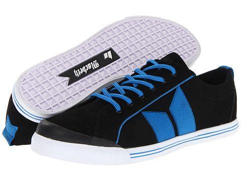 Macbeth Eliot Premium Black/Retro Blue   Shoe Closet ...