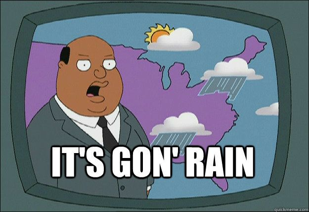 Whenever Ollie Williams Gives A Short Weather Report Family Guy