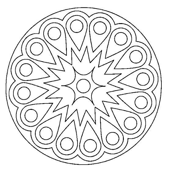 Mandala MANDALA Pinterest