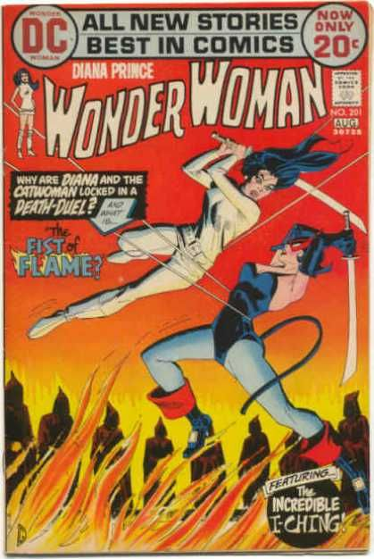 Diana Prince - Catwoman - Dc - The Fist Of Flame - Sword