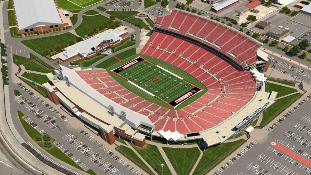 Papa John S Cardinal Stadium Seating Chart Louisville Football Football Stadiums Louisville Cardinals Football