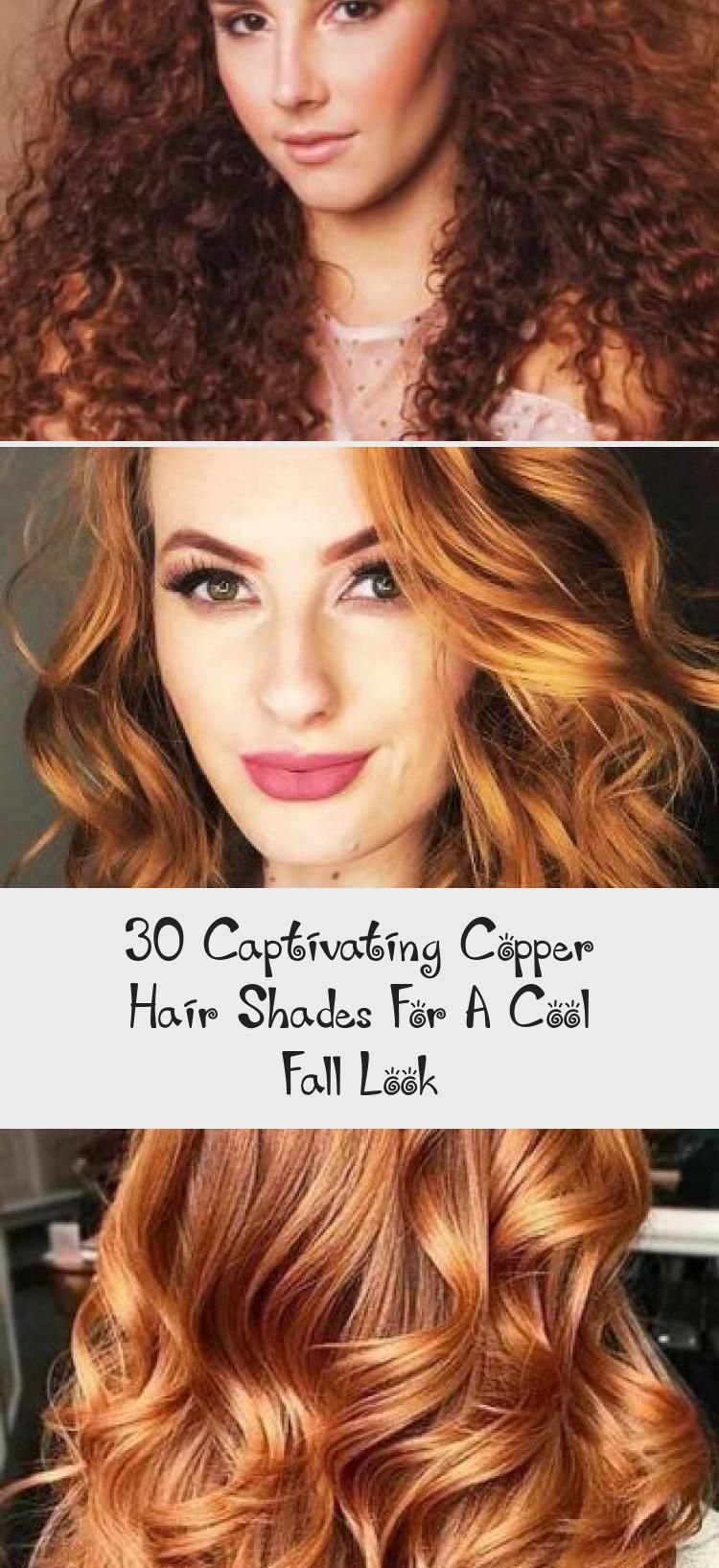 30 Captivating Copper Hair Shades For A Cool Fall Look Pinokyo