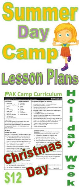 Christmas In July Day Summer Camp Activities 7 Games For Your Kids Age