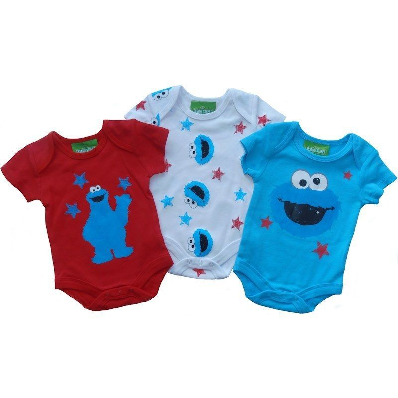 Details About 3 Piece Baby Clothing Bodysuits Gift Set