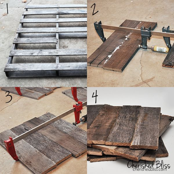 Photo of DIY Pallet Wood Chargers – Cherished Bliss