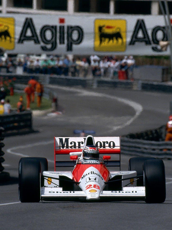 Gerhard Berger (AUT) (Honda Marlboro McLaren), McLaren MP4