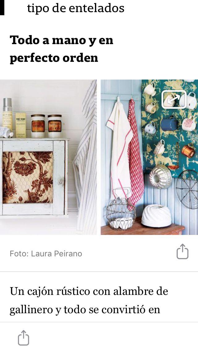 Pin de Verónica Hounie en DIY | Cajones, Gallinero, Rustico
