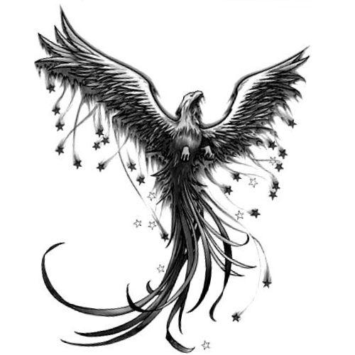 Feniks Ptak Szukaj W Google Tatu Tatuaże Tatuaż I