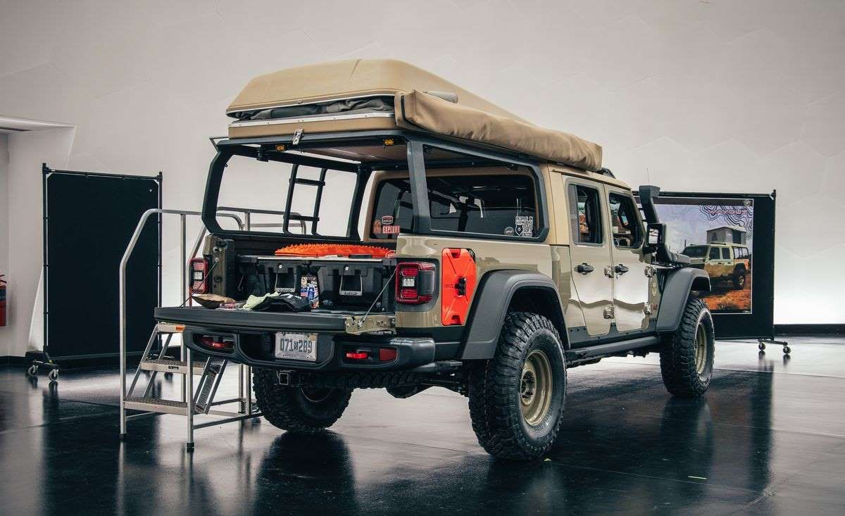 Jeep Wayout The Jeep Gladiatorbased Wayout concept for