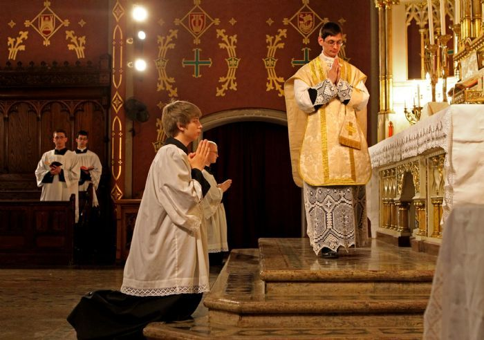 Institute Of Christ The King Sovereign Priest Latin Mass Catholic Priest Traditional Catholicism Christ The King