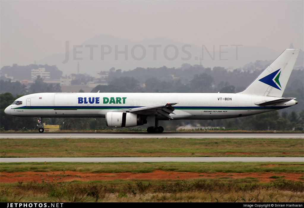 Blue Dart B757-200  The Indian part of DHL   | Civil Aviation