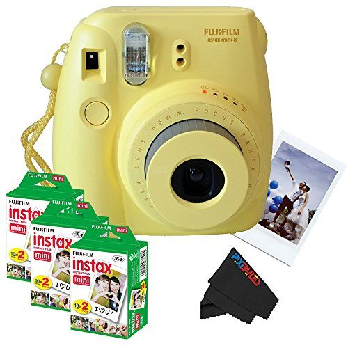 Fujifilm Instax Mini 8 Instant Film Camera Yellow 3 Fujifilm