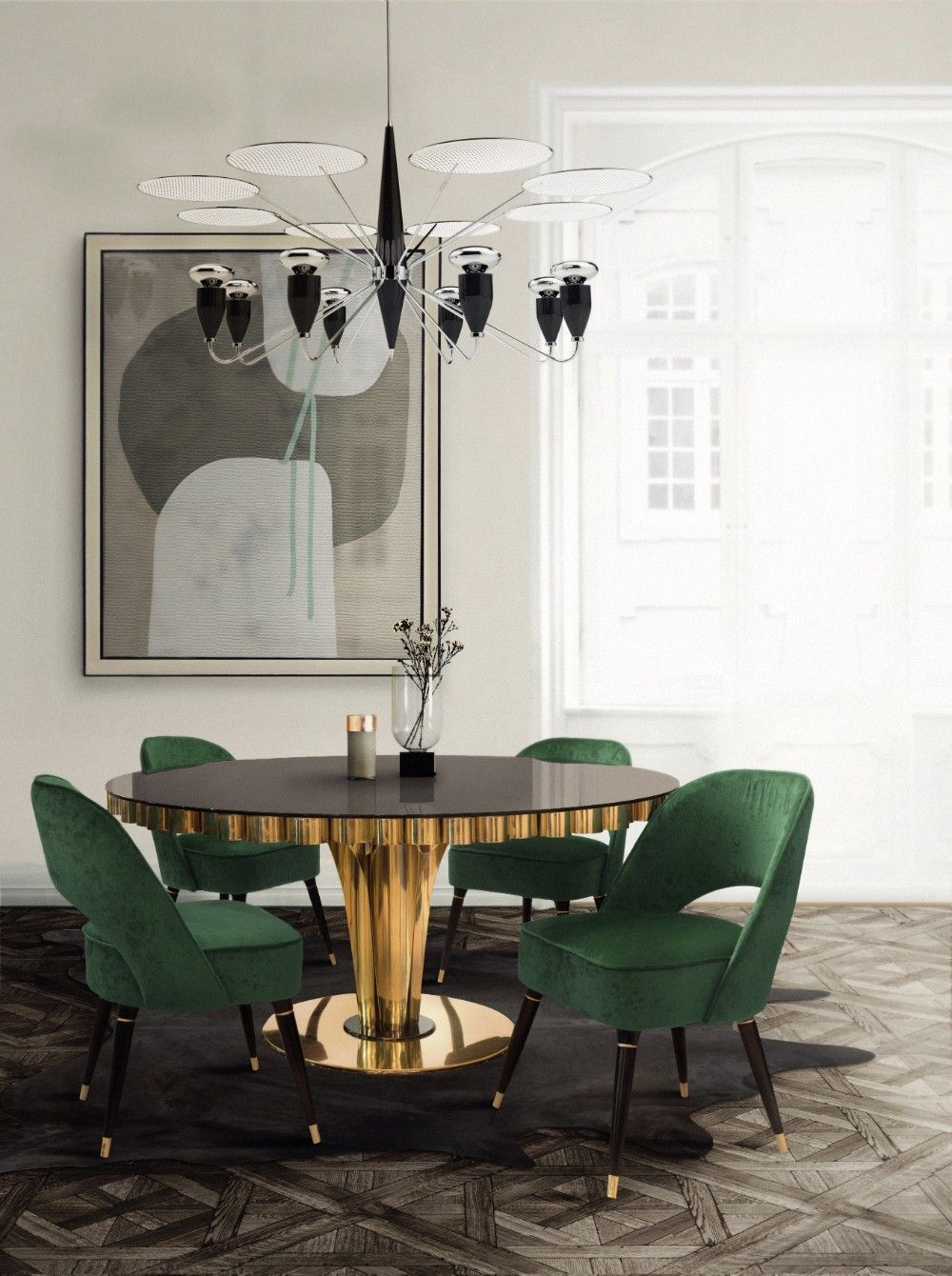 Modern Home Interiors And Design Ideas From The Best In Condos Penthouses And Architecture Plus Modern Dining Room Contemporary Home Decor Dining Room Design