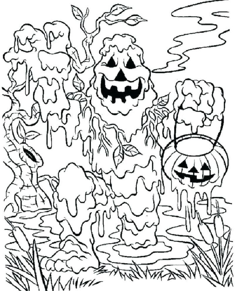 Have A Fun With Zombie Coloring Pages Monster coloring
