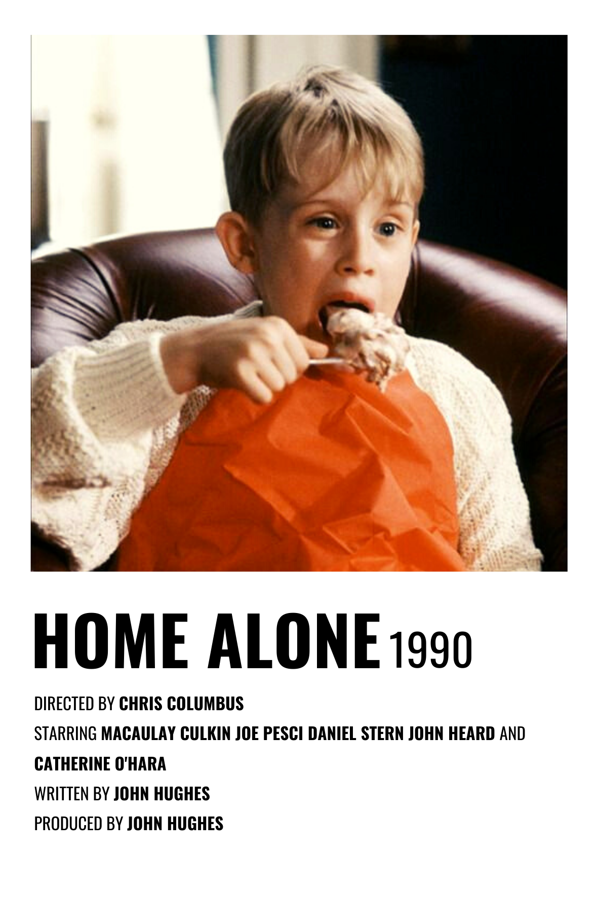 Minimalist Movie Posters Home Alone