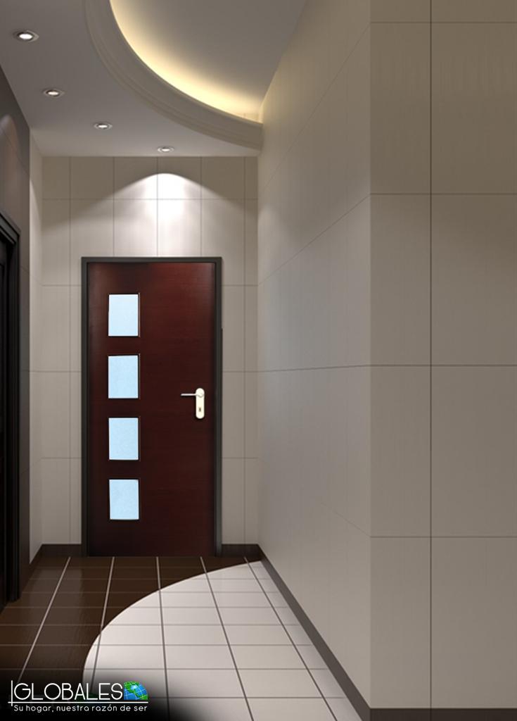 Puerta napoles fabricadas con chapas de madera dura - Puertas de madera para entrada principal ...