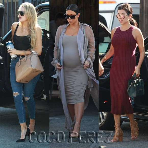 Kim, Khloe, & Kourtney Kardashian Will Have Your Full Attention With These Curve-Obsessed Looks In Los Angeles!