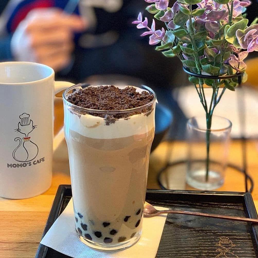 Diy bubble tea kit on instagram orea topping on bbt