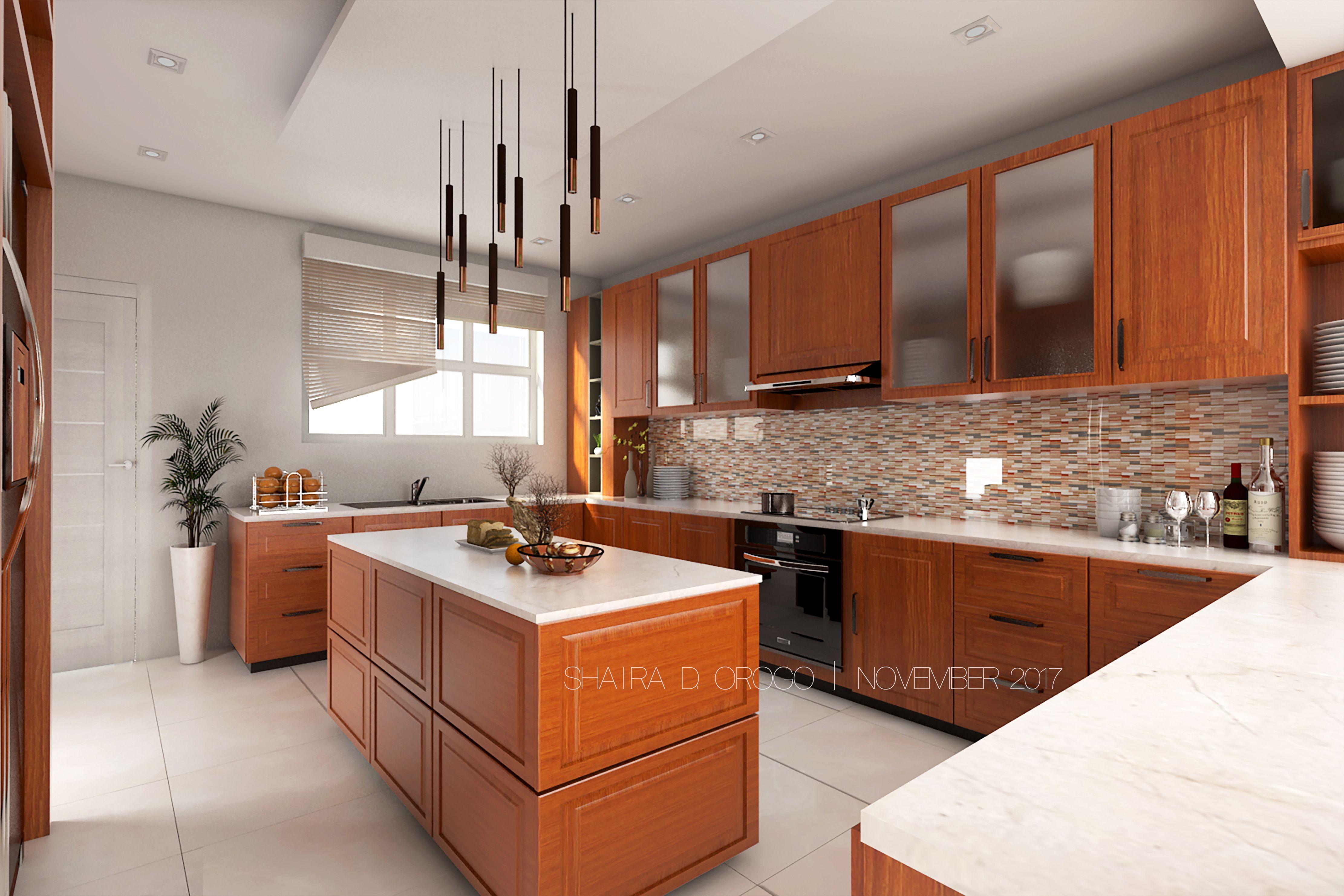 Kitchen Interior Design 3d Model 3d Render Interior Design