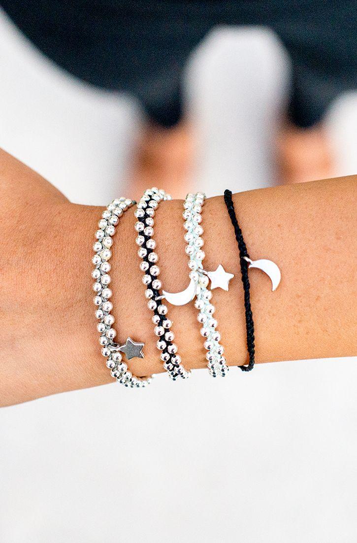 Bitty Charms Pura Vida Bracelets Stackable Handmade Thread Beaded