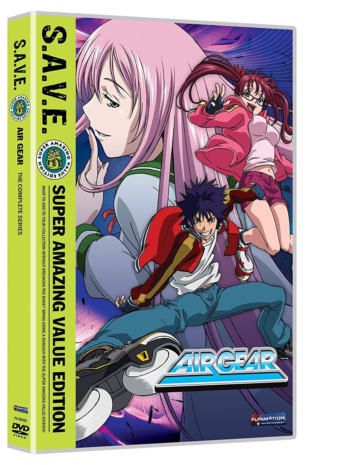 Air Gear Complete Series (S.A.V.E.) Amazon.ca Not