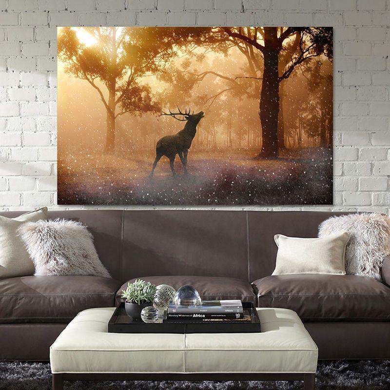 3D Forest Deer 121 Wall Stickers Vinyl Murals Wall Print Decal Art