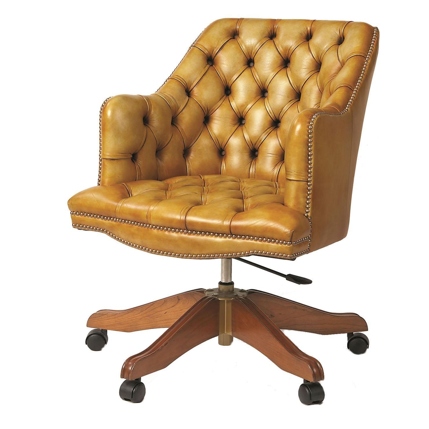 Deans Button Chair, Dijon | ACHICA