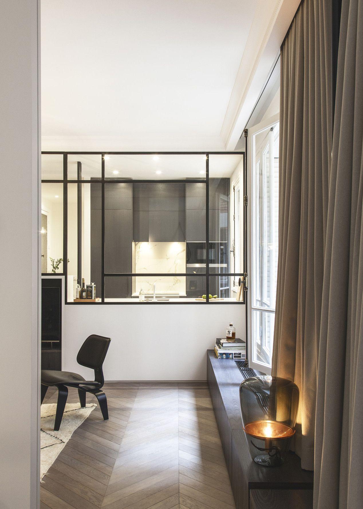 Une d coration zen dans un appartement parisien planete deco a homes world design interior - Appartement parisien decoration ...