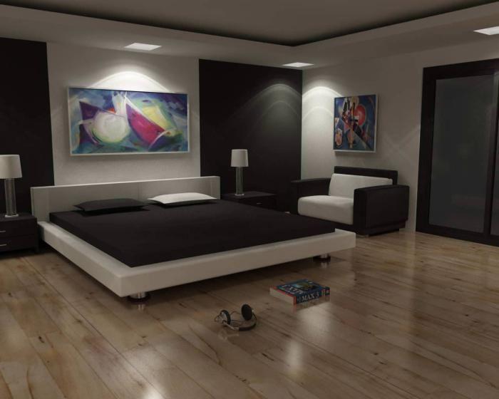 chambre à coucher moderne, chambre à coucher simple et belle | Inspi ...
